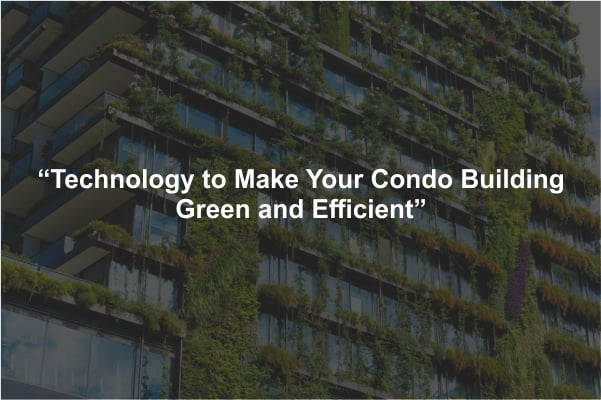 make-condo-building-green
