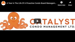 A Year In The Life Of A Proactive Condo Board Management